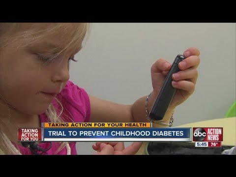 USF is a clinical trial site for a children's diabetes study to find if siblings are at higher risk
