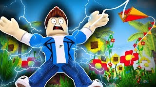 Roblox guardería - STRUCK BY LIGHTNING !? (Roblox Roleplay)