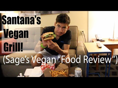 Sage's Vegan Food Review: Santana's Vegan Grill (Colorado Springs)   Episode 1