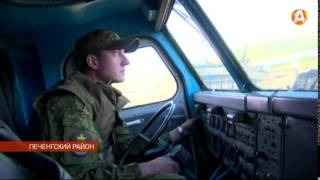 В 200-й мотострелковой бригаде провели показательные занятия для командного состава