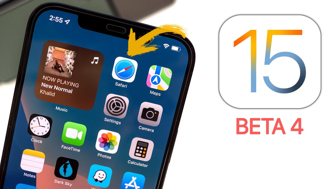 Download iOS 15 Beta 4 Released - What's New?