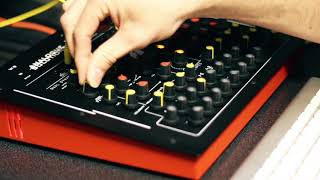 Analogue Solutions Impulse Command extreme Stereo Synth demo