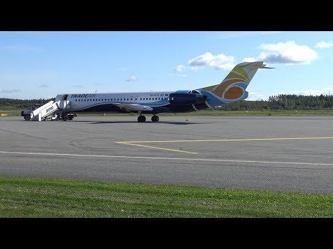 4K   Trade Air Fokker 100 9A-BTD + more at Tampere-Pirkkala (EFTP)
