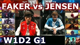 SKT vs C9 W1D2 - FAKER vs JENSEN Player Experience Stream | Group B LoL S6 World Championship 2016