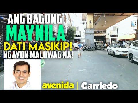 WOW MAGIC! ANG DATING MASIKIP NGAYON MALUWAG NA! AVENIDA CARRIEDO STA CRUZ MANILA Street Walking