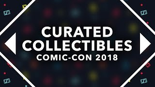 Curated Collectibles at the Sideshow Booth - SDCC 2018