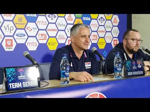Selektor Srbije Igor Kokoškov posle poraza od Gruzije (na srpskom od 04:20)