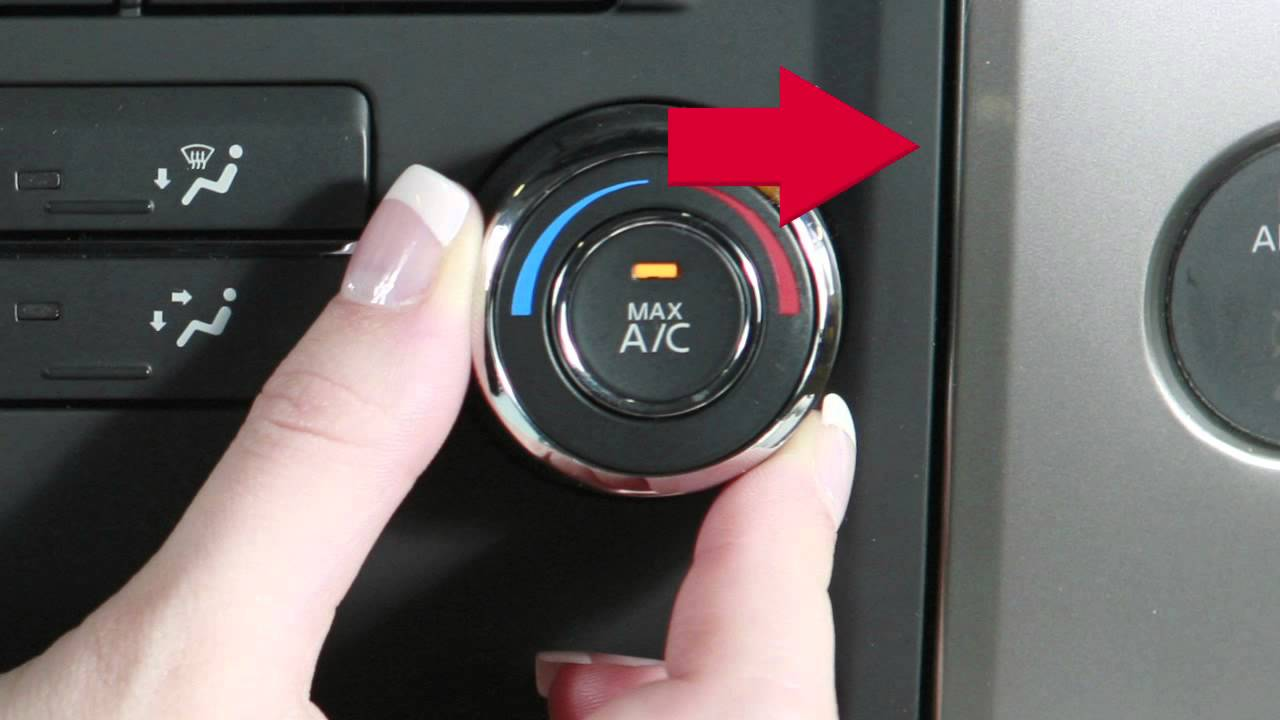 2013 Nissan Titan Manual Climate Controls Youtube