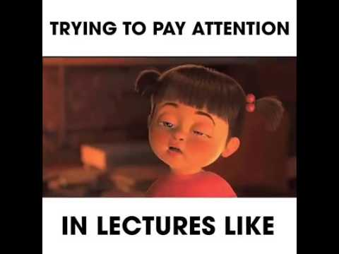 Trying to pay attention in lecture student life youtube trying to pay attention in lecture student life thecheapjerseys Gallery