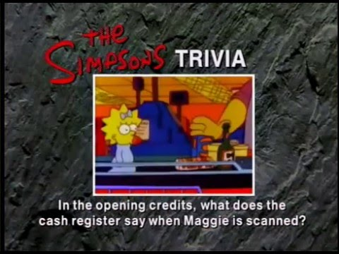 Simpsons Trivia (The Simpsons)