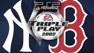 [PS2] Triple Play Baseball 2002 - Red Sox vs. Yankees