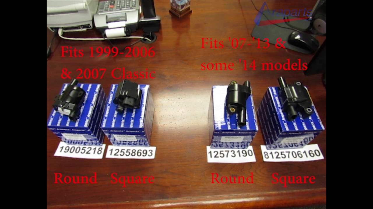 medium resolution of difference between round square coils for gm trucks suvs 4 8l 5 3l 6 0l 6 2l