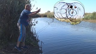 Рыбалка на КУБАРЬ ВЕРШУ МОРДУ на ЗАРЫБЛЕННЫХ каналах