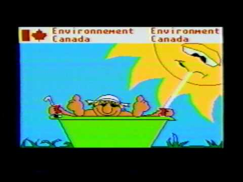 Montreal weather Videotron cable late 1980s