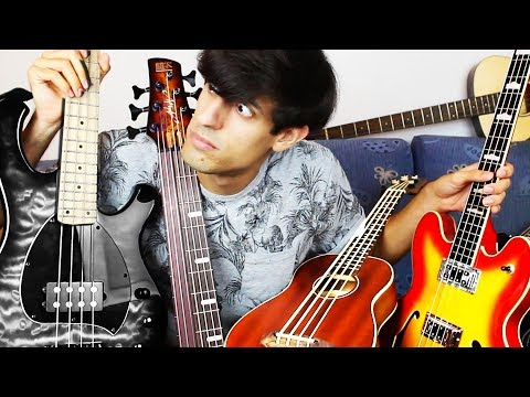 Download Youtube: How Many Bass Guitars Do I Have?