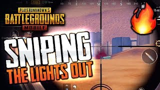 SNIPING THE LIGHTS OUT in PUBG Mobile Squads