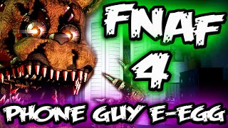 FNAF 4 EASTER EGG || PHONE GUY in FNAF 4 || Five Nights at Freddy's 4 Easter Egg