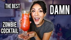 THE BEST DAMN ZOMBIE COCKTAIL 🍹 #ThirstyThursday