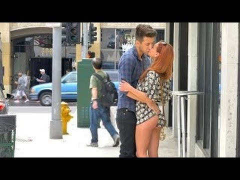 Kissing Prank EXTREME - OMG! - Hot Girls In Public - PrankInvasion Media