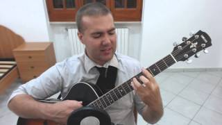 Holy Diver - Ronnie James Dio acoustic cover by Van Portogal