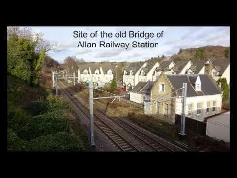 Bridge Of Allan Railway Station, Stirling