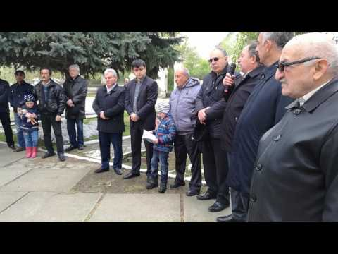 24 апреля 2017 года - митинг памяти жертв Геноцида Армян