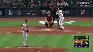 Todd Frazier 3-Run Homerun vs Astros | Yankees vs Astros Game 3 ALCS