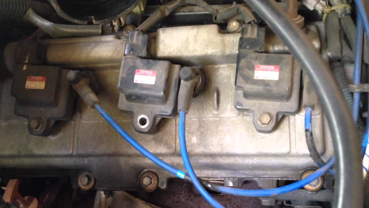 1995 Toyota 4runner Wiring Diagram 2008 Nissan Altima Stereo 99 Coil Replacement Youtube