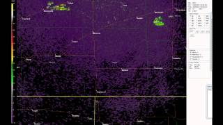 Pipeline Explosion as seen on Dodge City, KS radar