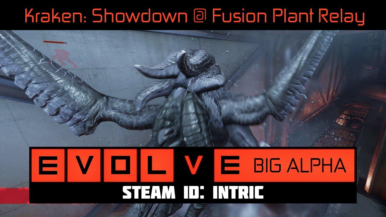 Kraken 3 Showdown Fusion Plant Power Relay EVOLVE BIG ALPHA PC - Power Relay Evolve