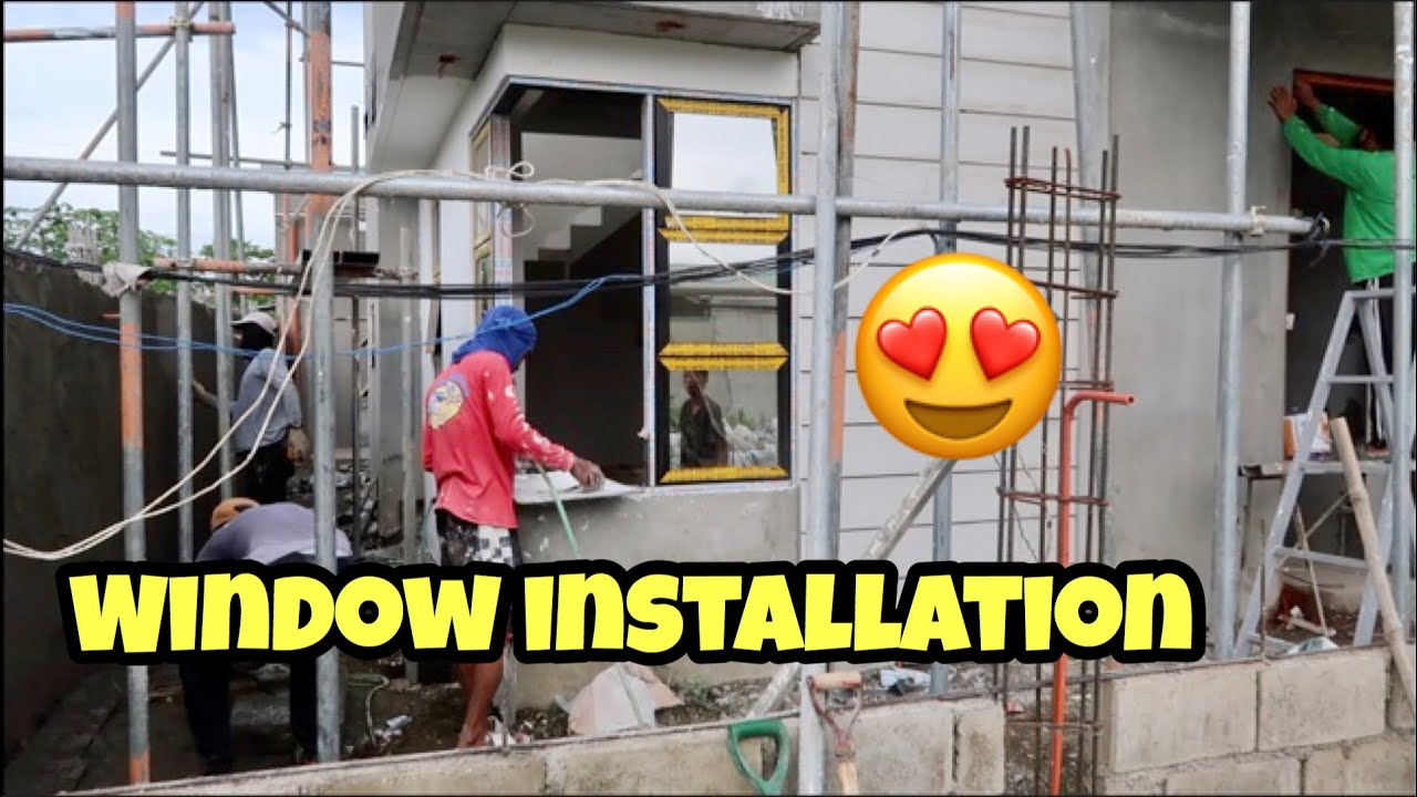 HOUSE BUILDING IN THE PHILIPPINES - EPISODE 158: MASTER BEDROOM CLOSET I WINDOW INSTALLATION