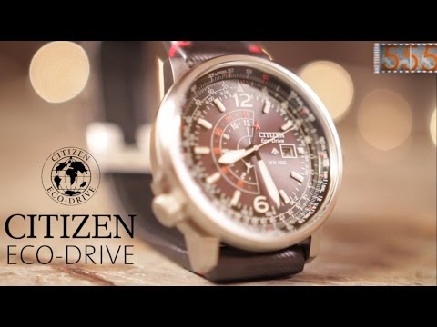 Citizen Nighthawk - Legendary Solar Pilot Watch