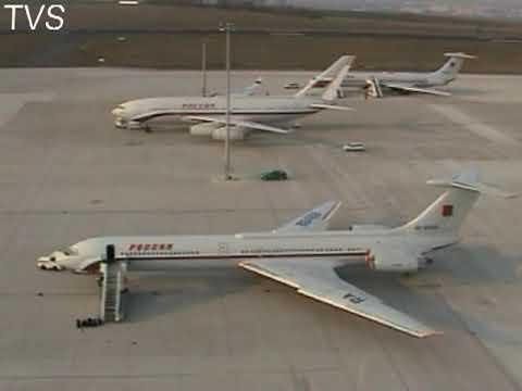 Russische Präsidentenmaschine landet in Erfurt