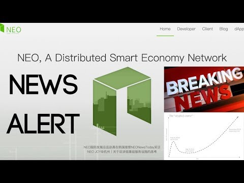 NEO Smart Economy (Huge Announcements & Price Movement)