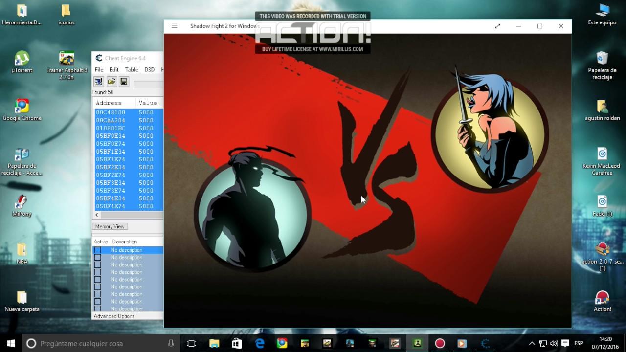 shadow fight 2 windows 10 hack download
