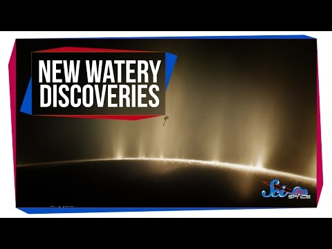 New Watery Discoveries on Enceladus and Europa!