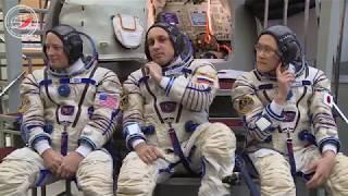 2-й день комплексных экзаменационных тренировок экипажей МКС-54/55