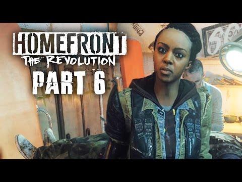 Homefront The Revolution Gameplay Walkthrough Part 6 - ASHGATE YELLOW ZONE