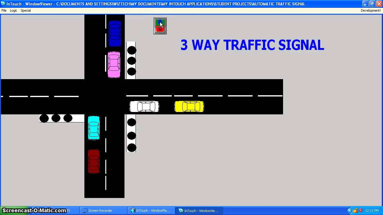 traffic light project report pdf