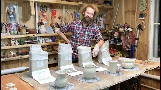 ???? 4 Белые французские глины производителя Solargil Обзор Волшебство керамики
