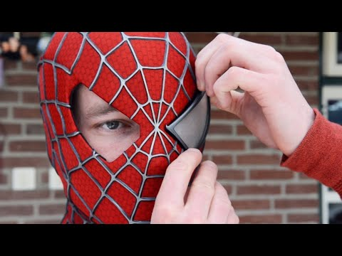 Making the SPIDER-MAN Mask! Movie Costume Replica
