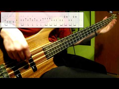 Earth, Wind & Fire - September (Bass Cover) (Play Along Tabs In Video)