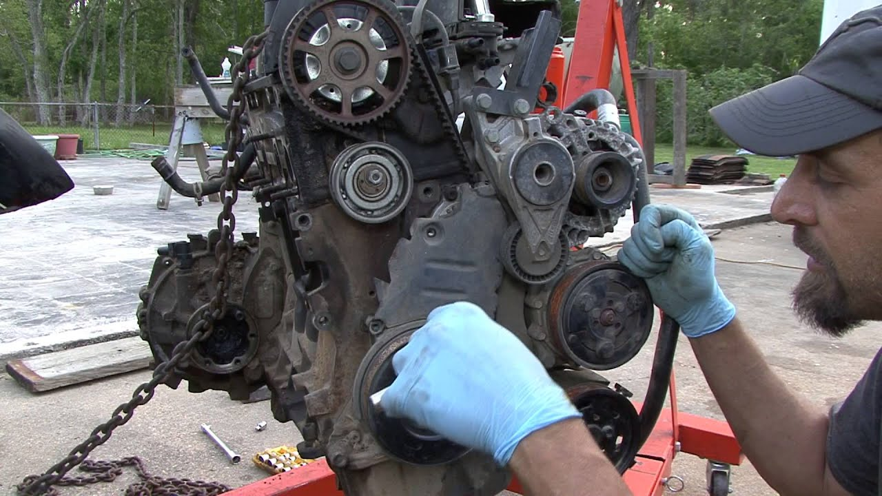 how to do a timing belt on your jetta part
