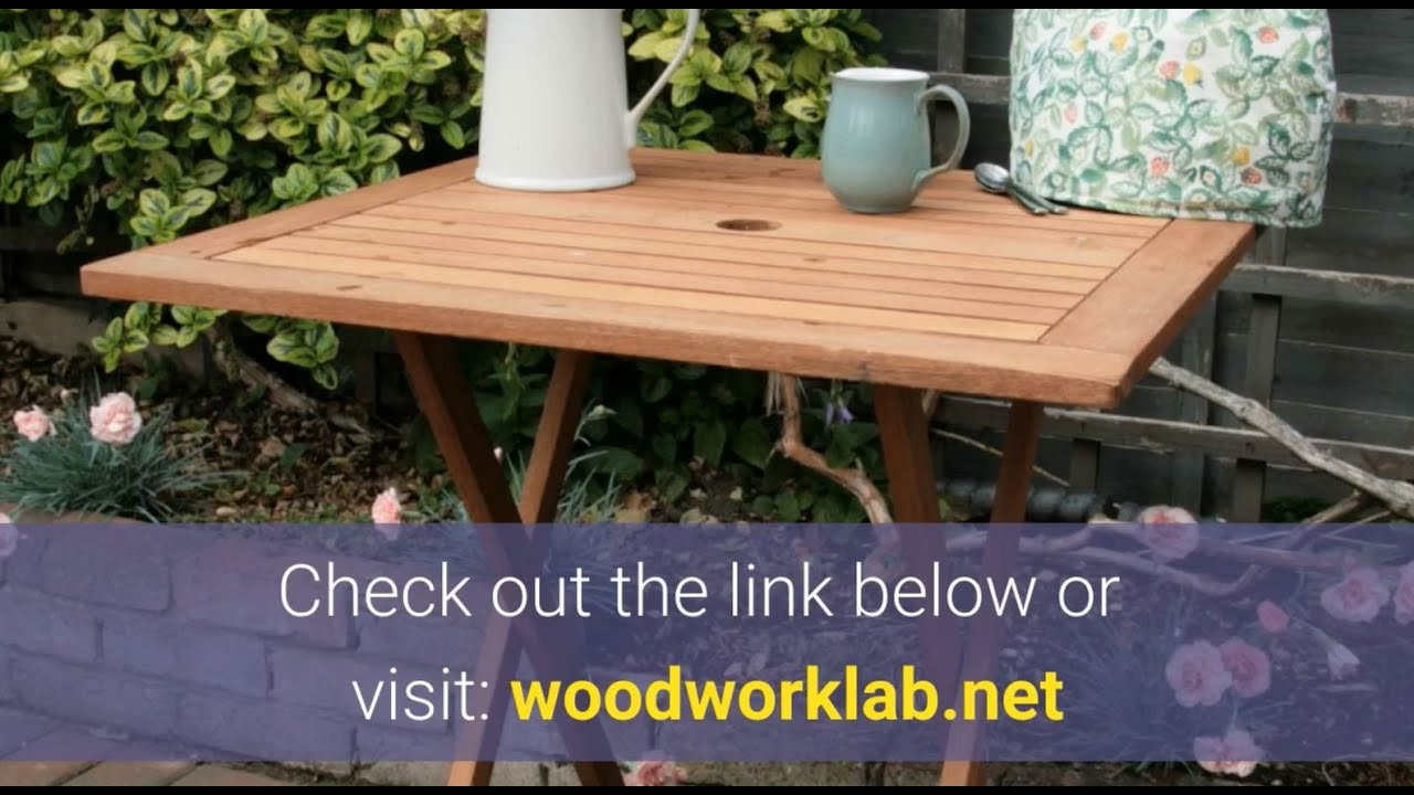 best garden table woodworking plans patio table wood plans for beginners
