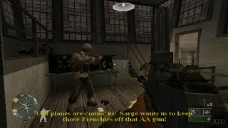 Call of Duty 2: Big Red One PS2 Gameplay HD (PCSX2)