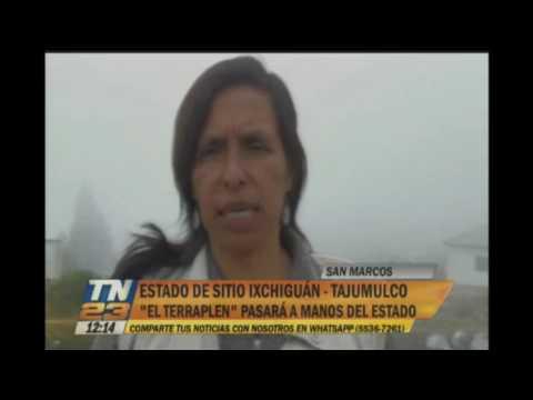 """""""El Terraplen"""" pasará al estado de Guatemala"""