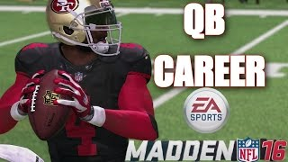 MADDEN 16 CAREER MODE - ITS A NEW DAY- 49ERS VS VIKINGS