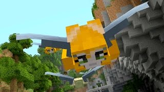 Minecraft PS4 - Can you beat my time? - Glide Mini-game