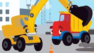 Download Песенки для детей - Экскаватор - Синий трактор - развивающая песенка про машинки Mp3 and Videos