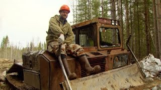 Englishman vs Russia: Men of the Forests. The tough work of Russian lumberjacks thumbnail